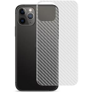 Voor iPhone 11 Pro IMAK Carbon Fiber Patroon PVC Back Protective Film