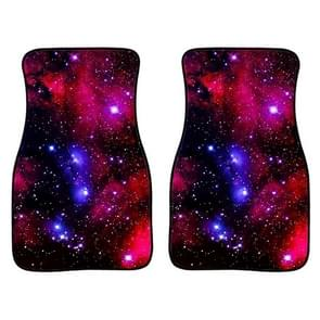 2 in 1 Universal Printing Auto Car Floor Mats Set  Style:C0162GO