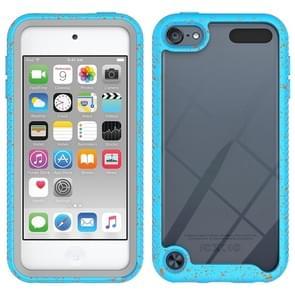 Voor iPod Touch 5 / 6 / 7 Shockproof Starry Sky PC + TPU Beschermhoes (Sky Blue)