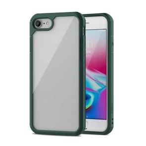 Voor iPhone SE (2020) iPAKY Star King Series TPU + PC Protective Case(Groen)