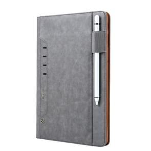 Voor Galaxy Tab S4 10.5/T830 CMai2 Tmall Kaka Litchi Texture Horizontal Flip Leather Case met Holder & Card Slot & Photo Frame & Pen Slot(Grijs)