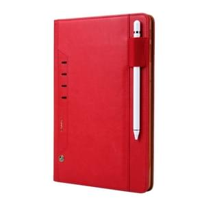 Voor Galaxy Tab S4 10.5/T830 CMai2 Tmall Kaka Litchi Texture Horizontal Flip Leather Case met Holder & Card Slot & Photo Frame & Pen Slot(Red)