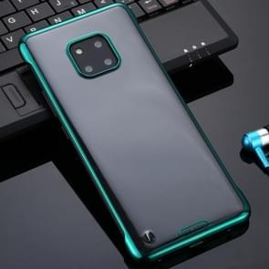 Voor Huawei Mate 20 Pro SULADA Borderless Drop-proof Vacuum Plating PC Case(Groen)