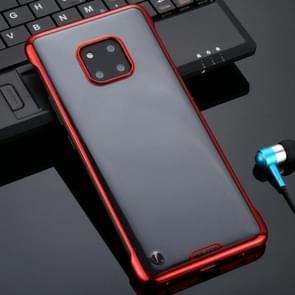 Voor Huawei Mate 20 Pro SULADA Borderless Drop-proof Vacuum Plating PC Case (Red)