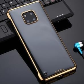 Voor Huawei Mate 20 Pro SULADA Borderless Drop-proof Vacuum Plating PC Case(Goud)