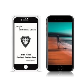 Voor iPhone SE 2 MIETUBL 9H Full Glue Full Screen Tempered Glass Film