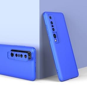 Voor Xiaomi Mi 10 Pro GKK Three Stage Splicing Full Coverage PC Protective Case(Blauw)