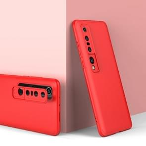 Voor Xiaomi Mi 10 Pro GKK Three Stage Splicing Full Coverage PC Protective Case (Red)