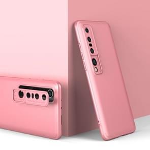 Voor Xiaomi Mi 10 Pro GKK Three Stage Splicing Full Coverage PC Protective Case (Rose Gold)