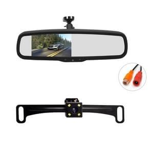PZ705 422-A 4 3 inch TFT LCD-auto achteruitkijkmonitor voor auto achteruitkijkscherm VideoSystemen