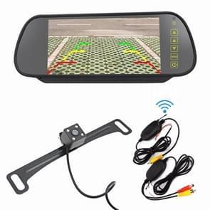 PZ709 437-W 7 0 inch TFT LCD-auto externe draadloze achteruitkijkmonitor voor auto achteruitkijkscherm Videosystemen
