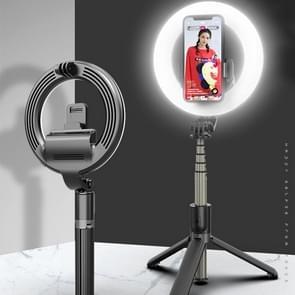 L07 LED 5-inch vullicht + selfiestick met houder