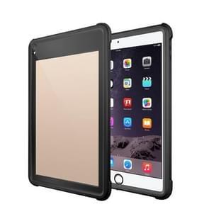 Voor iPad 10 5 inch RedPepper Shockproof Waterproof PC + TPU beschermhoes met houder(zwart)