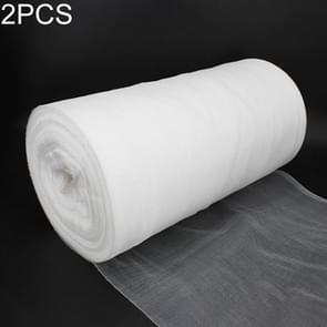 2 PCS Garden Dustproof Nylon Net Insect Screen Packing Bag  Mesh Aperture: 1mm  Specificatie:2x5m