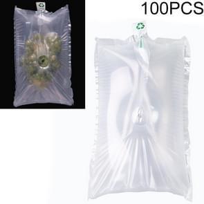 100 PCS Grape Opblaasbare Tas Express Fruit Protective Bag Packaging Bag  Specificatie:30x35cm