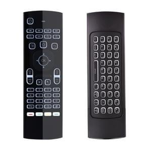 MX3 2 4 GHz Fly Air Mouse LED Backlight Wireless Keyboard Afstandsbediening met Gyroscoop voor Android TV Box / PC