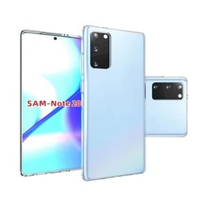 Voor Samsung Galaxy Note20 Glossy Transparante Beschermhoes