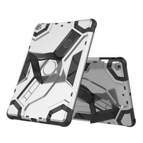 Voor iPad Air / iPad 5 Escort Series TPU + PC Schokbestendige beschermhoes met houder(zilver)