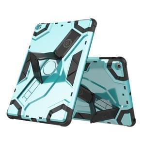 Voor iPad Air / iPad 5 Escort Series TPU + PC Schokbestendige beschermhoes met houder (MintGroen)