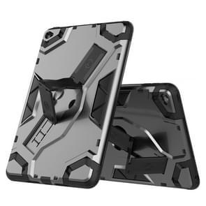Voor iPad mini 4 Escort Series TPU + PC Shockproof beschermhoes met houder(zwart)