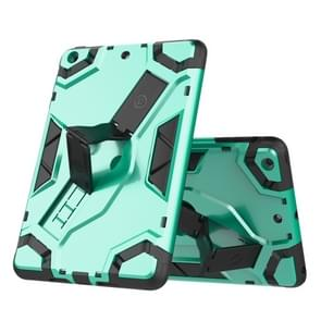 Voor iPad mini 3 / 2 / 1 Escort Series TPU + PC Schokbestendige beschermhoes met houder (MintGroen)