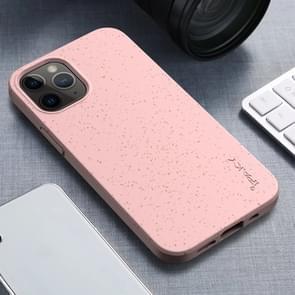 Voor iPhone 12 iPAKY Starry Series Schokbestendig stromateriaal + TPU beschermhoes (roze)