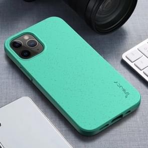 Voor iPhone 12 iPAKY Starry Series Schokbestendig stromateriaal + TPU beschermhoes (Fruitgroen)