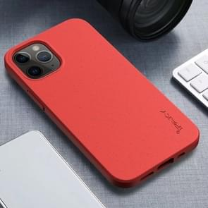 Voor iPhone 12 iPAKY Starry Series Schokbestendig stromateriaal + TPU beschermhoes(Rood)
