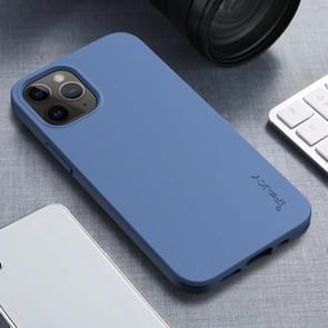 Voor iPhone 12 iPAKY Starry Series Schokbestendig stromateriaal + TPU beschermhoes (Hemelsblauw)