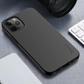 Voor iPhone 12 Pro Max iPAKY Starry Series Schokbestendig stromateriaal + TPU beschermhoes(Zwart)