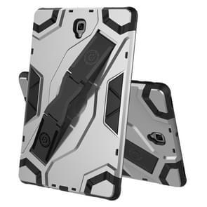Voor Samsung Galaxy Tab S4 10.5 T830/T835 Escort Series TPU + PC Shockproof Beschermhoes met houder(zilver)