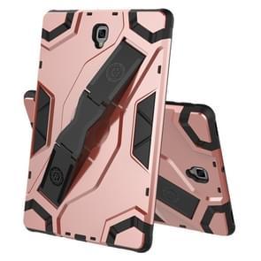 Voor Samsung Galaxy Tab S4 10.5 T830/T835 Escort Series TPU + PC Shockproof Beschermhoes met houder(Rose Gold)