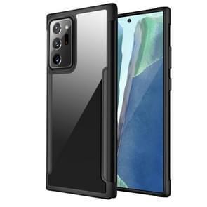 Voor Samsung Galaxy Note20 Ultra Iron Man Series Metal PC + TPU Beschermhoes(Zwart)