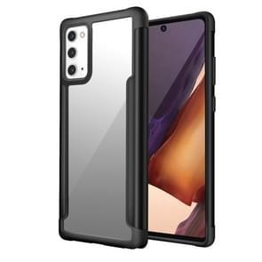 Voor Samsung Galaxy Note20 Iron Man Series Metal PC + TPU Beschermhoes(Zwart)