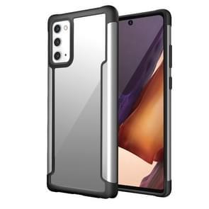 Voor Samsung Galaxy Note20 Iron Man Series Metal PC + TPU Beschermhoes (Zilver)