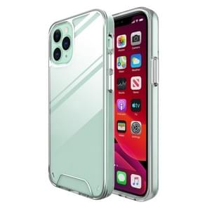 Voor iPhone 12 Scratchproof TPU + Acryl Space case Protective Case(Transparant)