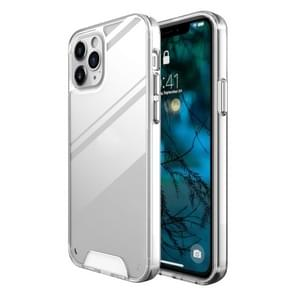 Voor iPhone 12 Pro / 12 Max Scratchproof TPU + Acryl Space case Protective Case(Transparant)