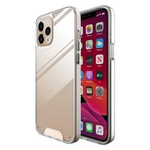 Voor iPhone 12 Pro Max Scratchproof TPU + Acryl Space case Protective Case (Transparant)