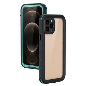 Voor iPhone 12 Pro / 12 Max RedPepper Schokbestendige krasbestendige pc + TPU beschermhoes(blauw)