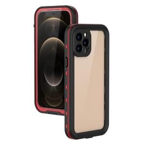 Voor iPhone 12 Pro / 12 Max RedPepper Schokbestendige krasbestendige pc + TPU beschermhoes(rood)