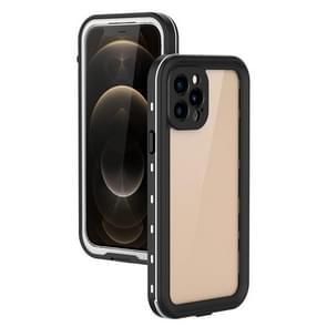 Voor iPhone 12 Pro / 12 Max RedPepper Schokbestendige krasbestendige pc + TPU beschermhoes(wit)