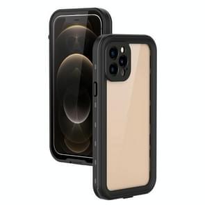 Voor iPhone 12 Pro / 12 Max RedPepper Schokbestendige krasbestendige pc + TPU beschermhoes(zwart)