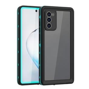 Voor Samsung Galaxy Note20 5G RedPepper Schokbestendige krasbestendige stofdichte pc + TPU beschermhoes(blauw)