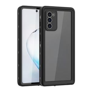 Voor Samsung Galaxy Note20 5G RedPepper Schokbestendige krasbestendige stofdichte pc + TPU beschermhoes(Zwart)