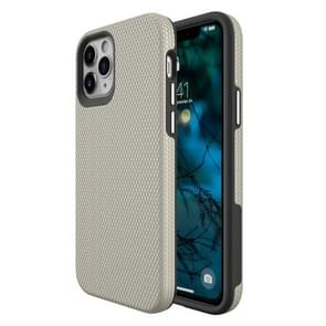 Voor iPhone 12 Max / 12 Pro Triangle Armor Texture TPU + PC Case(Goud)