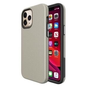 Voor iPhone 12 Pro Max Triangle Armor Texture TPU + PC Case(Goud)
