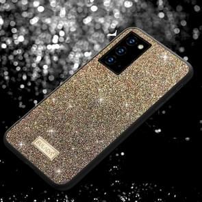 Voor Samsung Galaxy Note20 Ultra SULADA Schokbestendige TPU + Handgemaakte lederen hoes (kleurrijk)