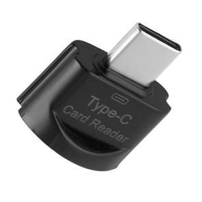 Type-C / USB-C naar TF aluminiumlegeringskaartlezer