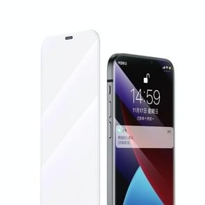 Voor iPhone 12 5 4 inch Benks OKR + Series 0 3 mm Anti-blue Light Type Borderless Diamond Tempered Film + Metal Dust Filter