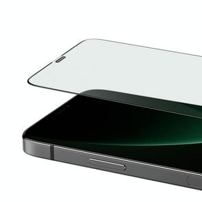 Voor iPhone 12 5 4 inch Benks V Pro+ Serie 0 3 mm HD Eye Protection Green Tempered Glass Film + Metal Dust Net